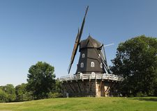 老风车在马尔摩 库存图片