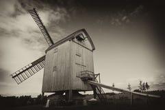 老风车 库存图片