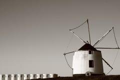 老风车 免版税图库摄影