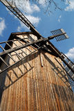 老风车 库存照片