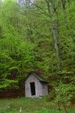 老风雨棚 免版税库存图片