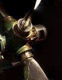 抽象减速火箭的飞机推进器 免版税图库摄影