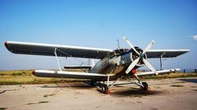 老飞机颜色 免版税库存照片