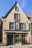 老餐馆Kaiser位于中世纪neighbo的弗里德里克 图库摄影