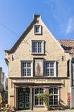 老餐馆Kaiser位于中世纪neighbo的弗里德里克 库存图片