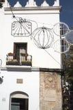 老马尔韦利亚城镇厅太阳海岸的安达卢西亚,西班牙 免版税库存照片
