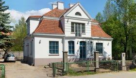 老高尚的房子的恢复 免版税库存照片
