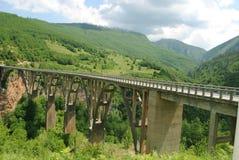 老高桥梁 库存图片