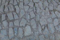 老鹅卵石路面特写镜头抽象背景  库存照片