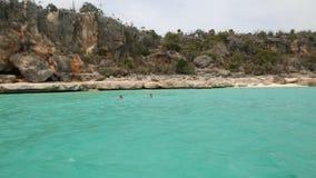 老鹰乐队的巴伊亚De Las阿吉拉斯海湾 免版税库存图片