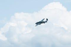 2014年老鹰乐队飞行表演B-25平原Gal汇聚  免版税库存照片