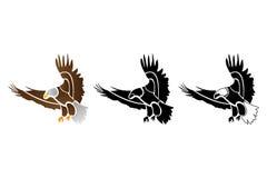 老鹰商标 库存图片