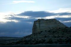 老鹰峡谷在犹他 库存图片