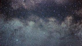 老鹰星座美丽的夜空 银河天鹰座conste 库存照片