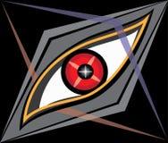 老鹰的眼睛 免版税库存照片