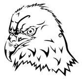 老鹰部族纹身花刺 库存照片