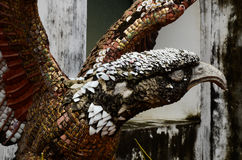老鹰雕象 免版税库存图片