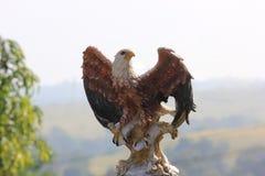 老鹰雕象 免版税图库摄影