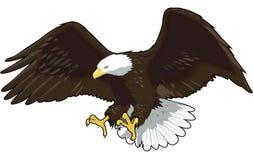 老鹰飞行例证 皇族释放例证
