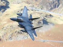 老鹰f15喷气式歼击机 免版税库存照片