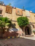 老麦地那在马拉喀什,摩洛哥,非洲 免版税库存照片