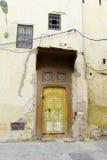 老麦地那街道在摩洛哥城市 免版税库存图片