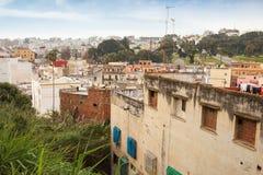 老麦地那,唐基尔,摩洛哥生存房子  库存图片