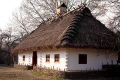 老黏土房子 免版税库存照片