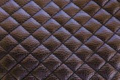 老黑皮革纹理背景 有机皮革背景 黑自然皮革纹理 库存照片