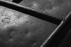 老黑钢表面 特写镜头背景 库存照片