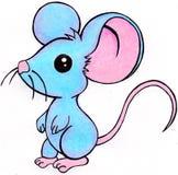 老鼠图画 库存照片