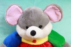 老鼠被充塞的玩具 库存照片