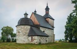老,被放弃的,历史的教会 图库摄影