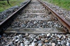 老,离开的铁路 免版税库存照片