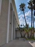 老20世纪60年代购物中心在卡尔斯巴德,加利福尼亚 库存图片