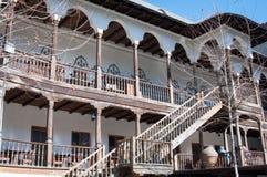 老19世纪Manuc旅馆 库存照片