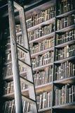 老经典图书馆细节  库存图片