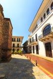 老经典大厦在老巴拿马城 图库摄影