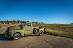 老经典汽车和卡车 库存图片