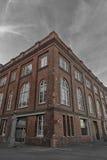 老经典砖瓦房在惠灵顿,新西兰首都 免版税库存图片