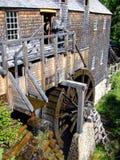 老水力操作的锯木厂 免版税库存图片