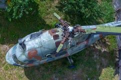 老直升机 免版税库存图片