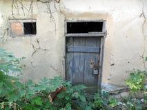 老黏土房子 图库摄影