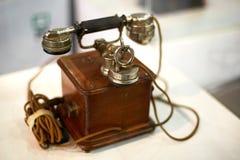 老类型电话 免版税图库摄影
