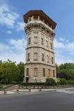 老水城市塔,摩尔多瓦共和国 免版税图库摄影