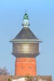 老水塔在费尔贝特,德国 库存照片