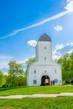老水塔在Kolomenskoye 库存图片