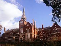 老维多利亚女王时代的学校 免版税库存照片