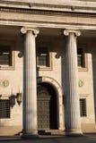 老维多利亚女王时代的银行 免版税库存图片