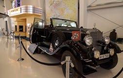 老1939年奔驰车模型G4游览无盖货车的Offener 库存照片